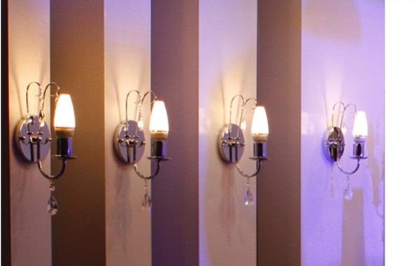 ứng dụng đèn led nến 4W FK- CL05