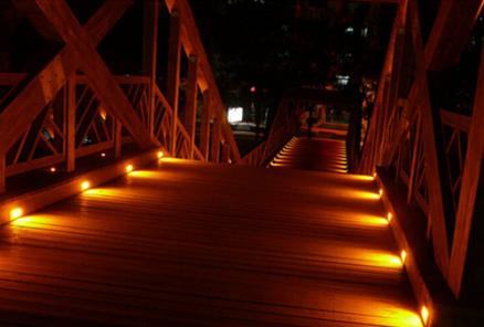 ứng dụng Đèn LED âm bậc cầu thang 3W FK-DL038