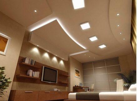 mua đèn LED panel ốp nổi vuông