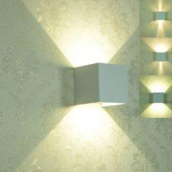 sử dụng đèn LED tường vuông 5W FK-WAL-035
