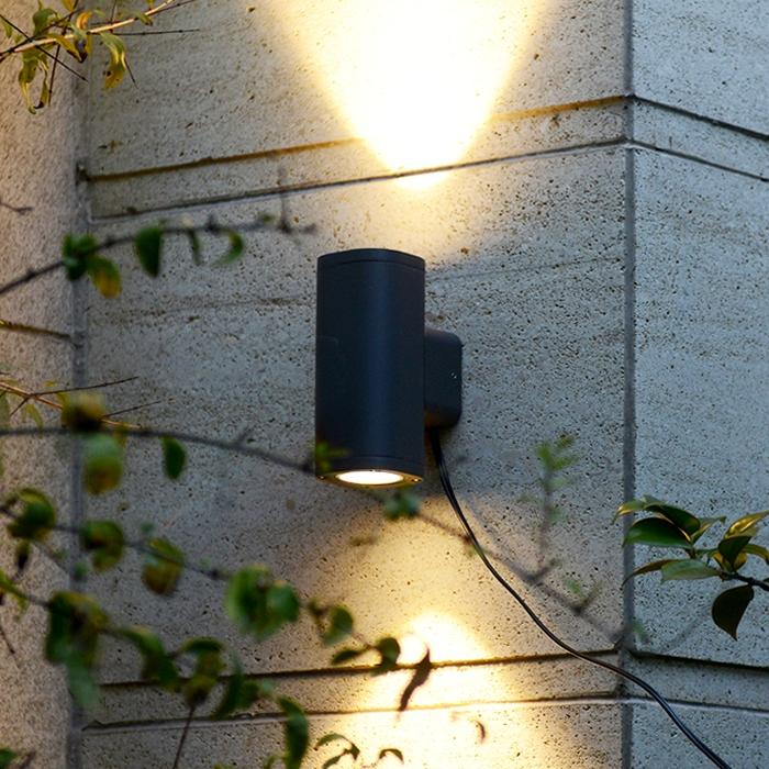 sử dụng đèn LED tường tròn FK-WAL01D