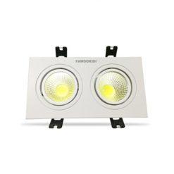 Đèn LED Spotlight đôi 2*7W FK-SLD04 Fawookidi