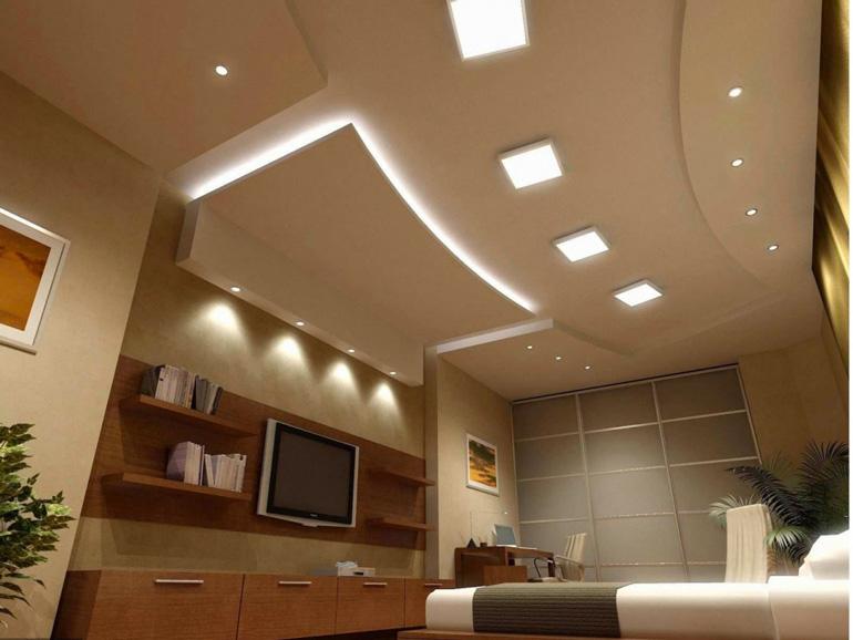 Đèn LED panel kính âm trần 12W&12W-DM FK-PVK401 Fawookidi chính hãng