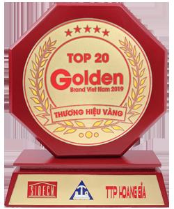 Đèn LED Fawookidi lọt top 20 thương hiệu vàng Việt Nam năm 2019 do Trung Tâm bảo vệ người tiêu dùng Việt Nam bình chọn
