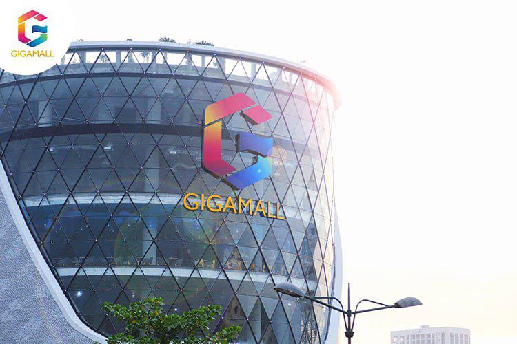 dự án Gigamall Thủ Đức sử dụng đèn led fawookidi