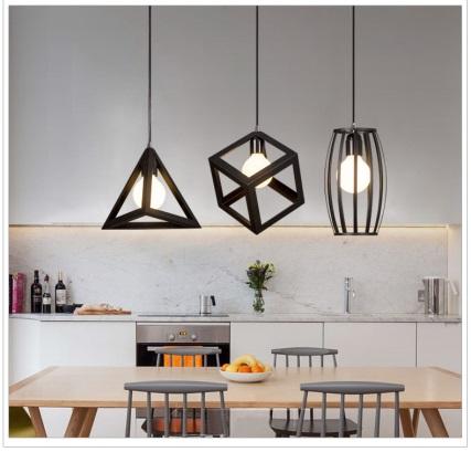Đèn trang trí phòng ăn