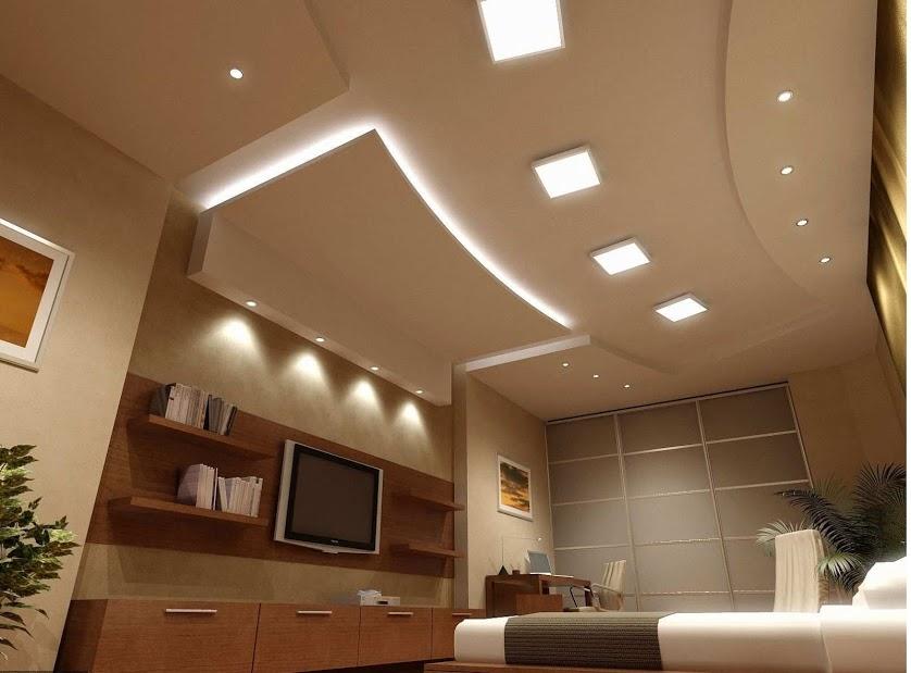 Đèn led panel ốp nổi sử dụng cho trần bê tông