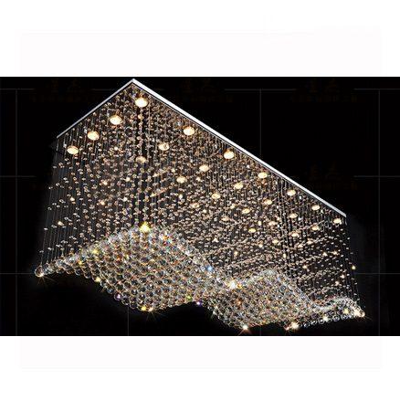 Đèn thả pha lê Wave PL-W20008