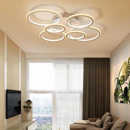 Sử dụng đèn trang trí ốp trần OTV1015-1.1