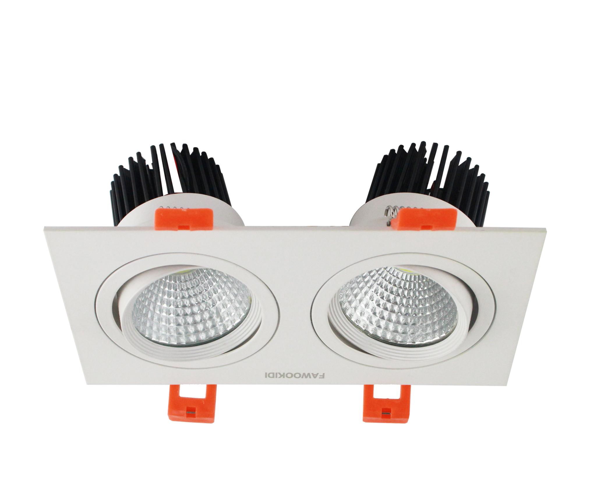 Giá mua bán Đèn LED Spotlight đôi 2*9W FK-SLD04 Fawookidi chính hãng