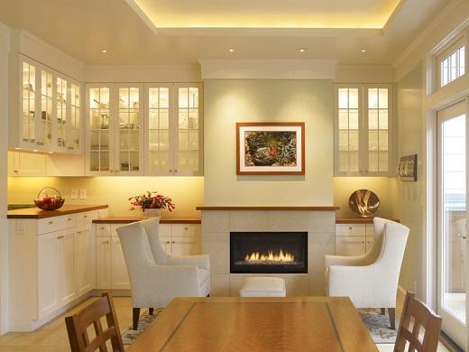 Ứng dụng sử dụng đèn LED dây đơn FK-LDD-S052 cho không gian nhà bếp