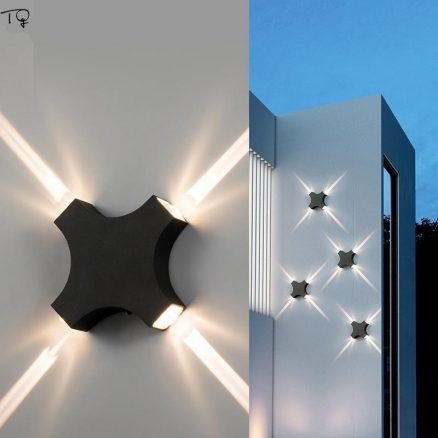 Đèn LED tường FK-WAL-C04 cho ánh sáng từ nhiều hướng